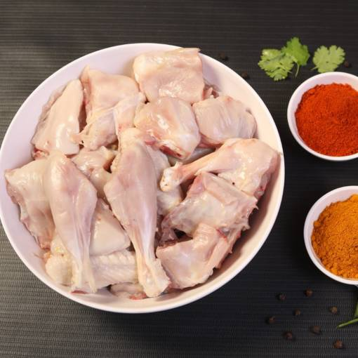 Country Chicken Curry Cut - Skinless